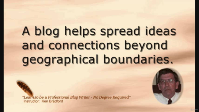 Learn to be a Professional Blog Writer - No Degree Required