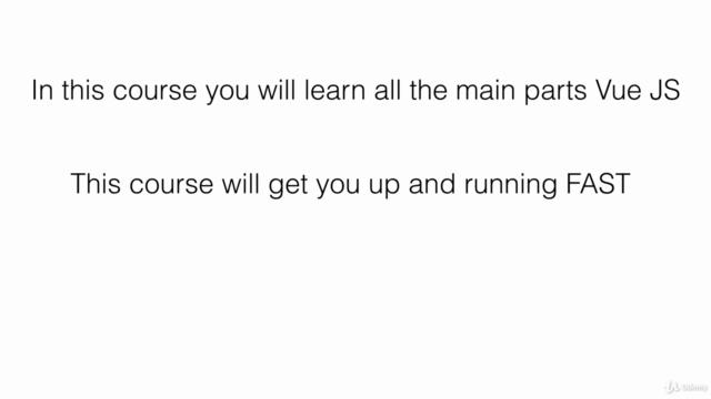 Vue.js Fast Crash Course