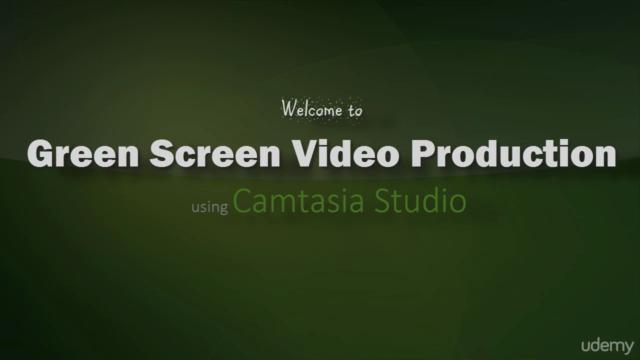 Green Screen Videos for Beginners using Camtasia Greenscreen