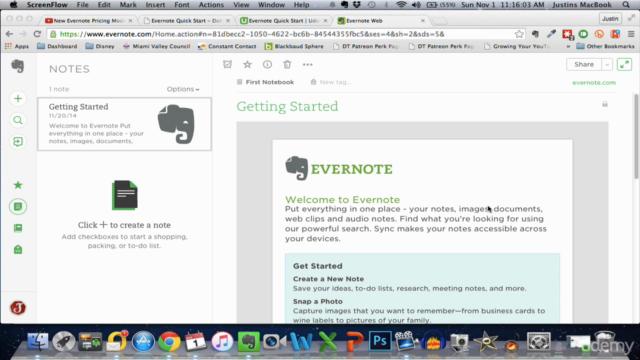 Evernote Quick Start