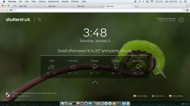 Create A New Tab Override Chrome Extension