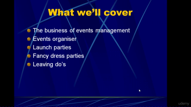 Party Planning and Events Management