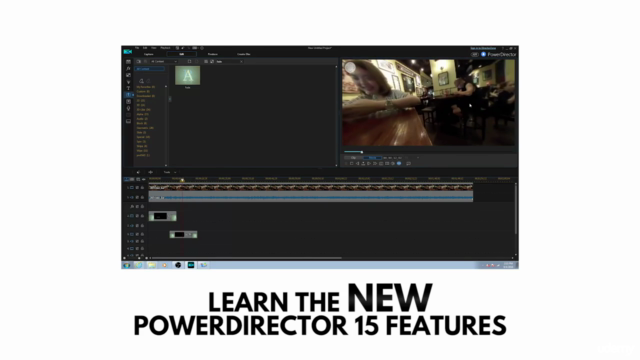 PowerDirector 15 - Video Editing for PC Users
