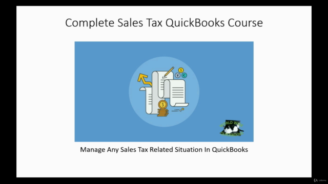 Complete Sales Tax QuickBooks Course