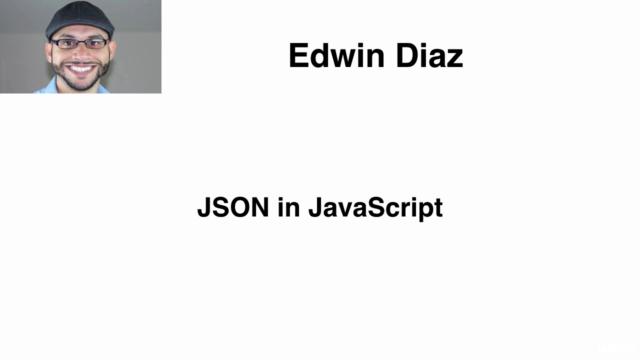 Javascript Intermediate level 3 - JSON