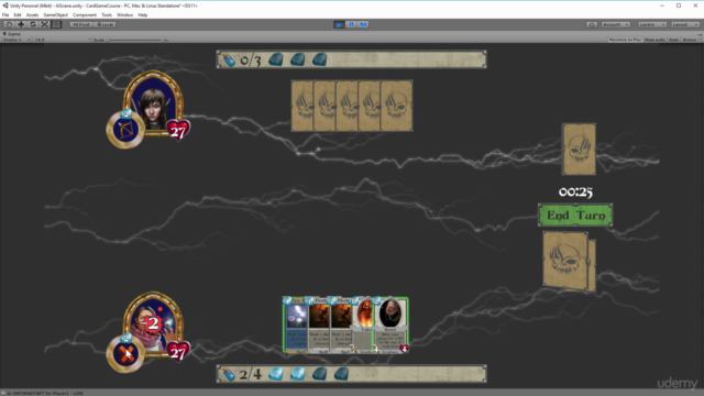 Learn To Code Trading Card Game Battle System With Unity 3D