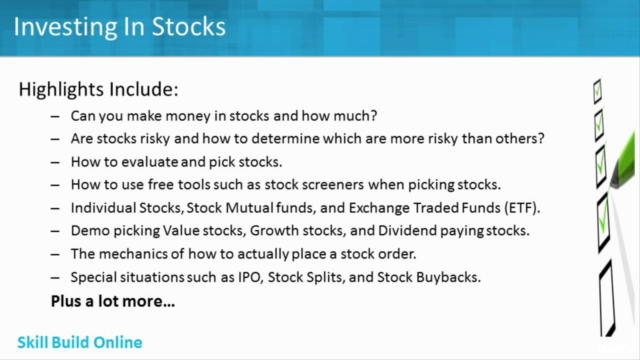 Investing In Stocks  The Complete Course! (11 Hour)