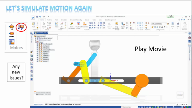 Create a Rowboat Mechanism Using Siemens Solid Edge